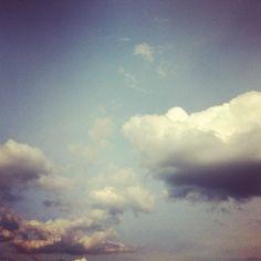 Cloud over my village Morup #cloud