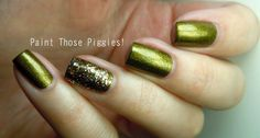 Paint Those Piggies!: Twinsie Tuesday-Accent Nail