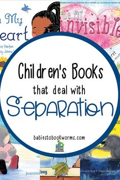 These children's books about separation can help kids to cope with being apart from their parents. #separationanxiety #booksaboutseparation #kidsbooks Books To Read In Your 20s, Books For Moms, Good Books, My Books, Practical Parenting, Parenting Tips, Kids And Parenting, Children's Books About Family, Nonfiction Books For Kids