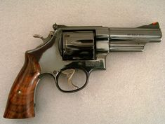 Smith and Wesson Model 25, chambered in 45 Colt.