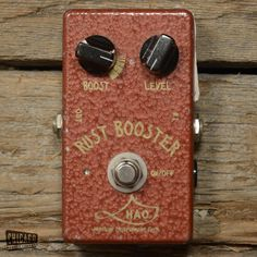 HAO Rust Booster USED