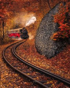 Train Tracks, Train Rides, Motor A Vapor, Best Travel Credit Cards, Best Travel Insurance, Old Steam Train, Old Trains, Train Pictures, Amazing Destinations