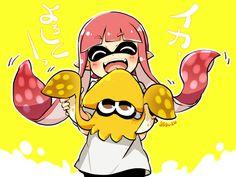Happy Squid Girl.
