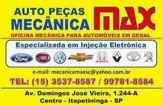 AUTO PEÇAS E MECÂNICA MAX OFICINA MECÂNICA P/ AUTOMÓVEIS EM GERAL