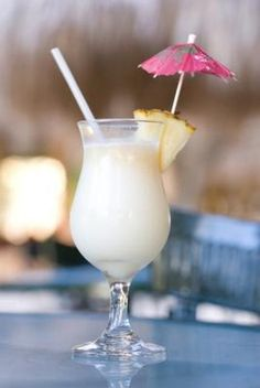 "Made with rum, coconut cream or coconut milk, and pineapple juice, it is incredibly refreshing. The name piña colada literally means ""strained pineapple"", a reference to the freshly pressed and strained pineapple juice used in the drink's preparation.We enjoyed a few of these while on Oahu."