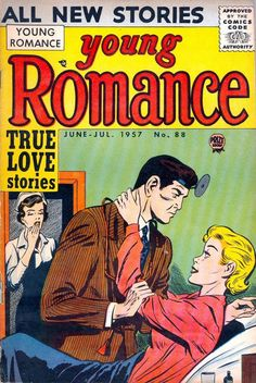 Cover for Young Romance (Prize, 1947 series) #v10#4 (88)