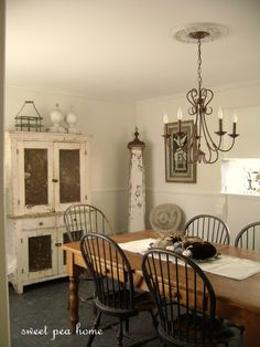 sweet pea home: DINING ROOM REVEAL