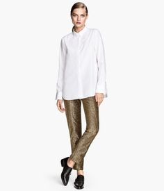H&M Glittery Pants $39.95 - these are ridiculous but i love them