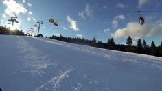 Idealne warunki narciarskie w Zieleńcu.