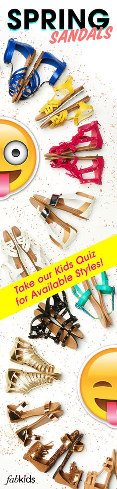 SPRING INTO ACTION WITH NEW SHOES FOR YOUR INCREDIBLE KID! EXCLUSIVE VIP OFFER – 2 SHOES for $9.95! Offer end 5/31/2016. As a VIP, you'll enjoy a new boutique of personalized styles each month for your FabKid, as well as exclusive pricing & free shipping on orders over $49. Don't think you'll need something new every month? No problem – click 'Skip The Month' in your account by the 5th and you won't be charged. Discover Cute Styles by Taking The Kids Quiz To Take Advantage of This Offer.