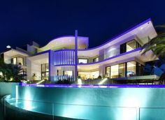 Fancy Houses Mansions Beautiful Queensland Australia Contemporary Modern Architecture