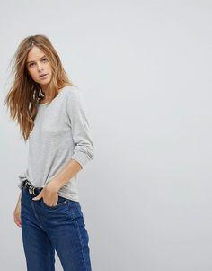 Vila - Superweicher Pullover - Grau Jetzt bestellen unter: https://mode.ladendirekt.de/damen/bekleidung/pullover/sonstige-pullover/?uid=cc648d97-6b71-5a55-81f3-9ec07a227707&utm_source=pinterest&utm_medium=pin&utm_campaign=boards #sale #sonstigepullover #pullover #strickmode #female #bekleidung