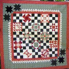 Q-Harvest Sampler by Linda Rotz Miller Quilts & Quilt Tops, via Flickr