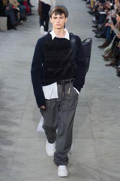 Louis Vuitton | Menswear - Autumn 2017 | Look 9