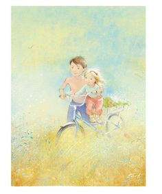 with the wind.jpg | Kate Babok | Representing leading artists who produce children's and decorative work to commission or license. | Advocate-Art