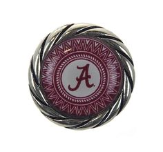 Official NCAA Licensed Product. Boutique Card Packaging. Buttons Made To  Fit All Standard Snap