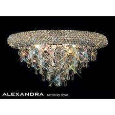 Alexandra Large 3 Light Polished Chrome Wall Fixture with Asfour Crystal Wall Lights, Ceiling Lights, Crystal Wall, Wall Fixtures, Polished Chrome, Chandelier, Bulb, Crystals, Modern