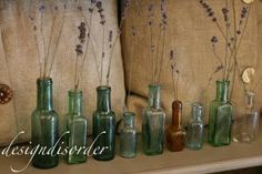I just love odd jars and bottles