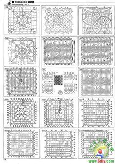 Crochet block charts