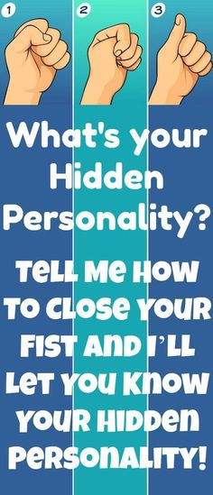 The Way You Make A Fist Reveals Secrets About Your Personality!!! - Way to Steal Healthy