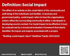 Ok more prep for this weeks #conversation here on #facebook page around social entrepreneurship and social enterprise! what are some of the core definitions in the sector? Lets have a quick look at #socialimpact