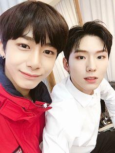 Hyungwon and Kihyun