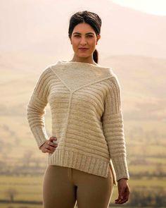 Рельефный пуловер оверсайз Binsey Из коллекции The Fiber Co Дизайнера Фиона Элайс