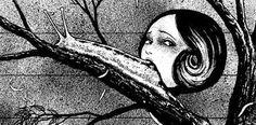 Slug Girl. Junji Ito. From Horror World of Junji Ito, Volume Seven.