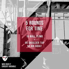 WOD 050517 #CrossFit #Grenoble #CrossFitGrenoble #Wod #Training #OriginalAthlete #Become #smh #dusportmaispasque