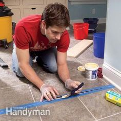 Repair and Reglue Sheet Vinyl Floors | The Family Handyman