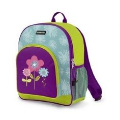 Crocodile Creek kids personalized backpack with three flowers can be embroidered with child's name or monogrammed initials. Colorful Backpacks, Kids Backpacks, Kids R Us, Children, Personalized Backpack, Toddler Backpack, Toys Online, Sleepover, School Bags