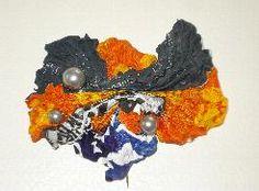 Recycled plastic bags - Double Eye Design oorbellen van gesmolten plastic zakken