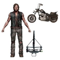 Walking Dead Daryl Dixon Figure & Motorcycle Deluxe Box Set - McFarlane Toys - Walking Dead - Action Figures at Entertainment Earth