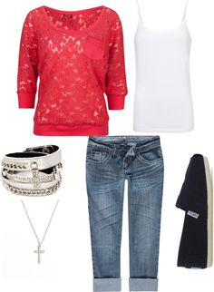 """""""Fall Casual"""" by alyssakrause on Polyvore"""