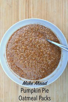 Kitchen Hacks Live – Make-Ahead Pumpkin Pie Oatmeal Packets | My Efficient Kitchen Online Course