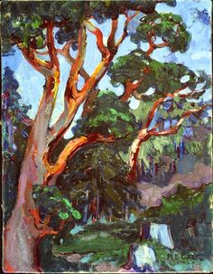 Emily Carr (1871-1945), Arbutus Tree, 1922. oil on canvas, 46 x 36 cm