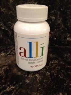 Alli ORLISTAT DIET 60mg 90 CAPSULES WEIGHT LOSS AID Refill Pack Glaxo Smith Klein http://www.amazon.com/dp/B00KPI5GQK/ref=cm_sw_r_pi_dp_Iuw0tb1QSRVCS9SD
