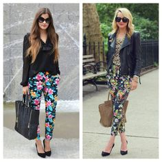 Two girls, one style!