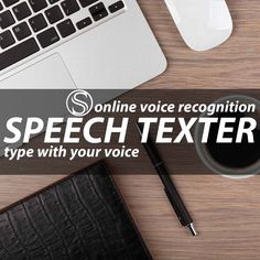 Speech Recognition Online. Dictate with your voice. SpeechTexter supports over 60 different languages! A web app for typing with your voice. Also available on Android!