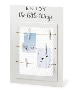 Little Things Hanging Organizer - Wall Decor