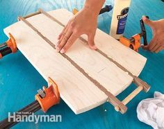 How to Make a Wooden Chopping Board and Serving Tray