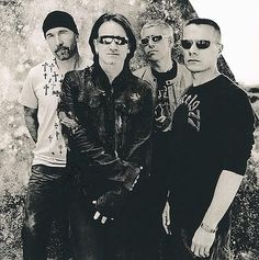 U2...  The greatest ambassadors for social justice ever !!