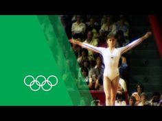 Nadia Comăneci on her Montréal Olympics triple-gold   Olympic Rewind - YouTube
