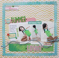 Elle's Studio Summer Lovin' tags - Two Peas in a Bucket