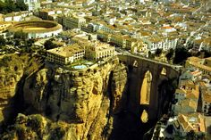 Ronda, na Espanha, é a cidade-berço das touradas   #Espanha, #Jmj, #LugaresDoMundo, #Ronda