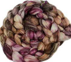 Climbing the Plum Tree handdyed Merino wool / by hobbledehoy