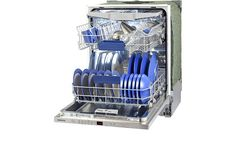 Full-sized dishwashers can wash up to 150 items, while slimlines and compacts are more limited - up to 100 or 40-60 items. They come built-in or freestanding and can cost £150, but most are around £300 to £600. You can get an energy-efficient Best Buy for around £300. Pictured is the Siemens SN66L080GB36 dishwasher.