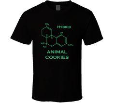 Animal Cookies Hybrid Strain Marijuana Weed T Shirt