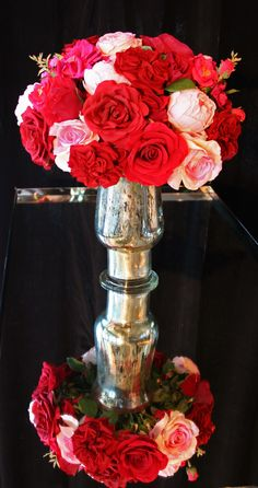 Pretty silk flower arrangement from our sponsor Natural Decorations, Inc. - Traditional Home® 2012 Classic Woman Awards