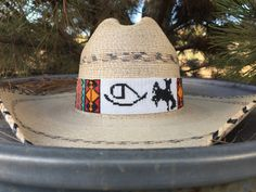 Beadwork, Beading, Beaded Hat Bands, Cowgirl Hats, Fashion Bracelets, Wearable Art, Seed Beads, Hand Weaving, Patterns
